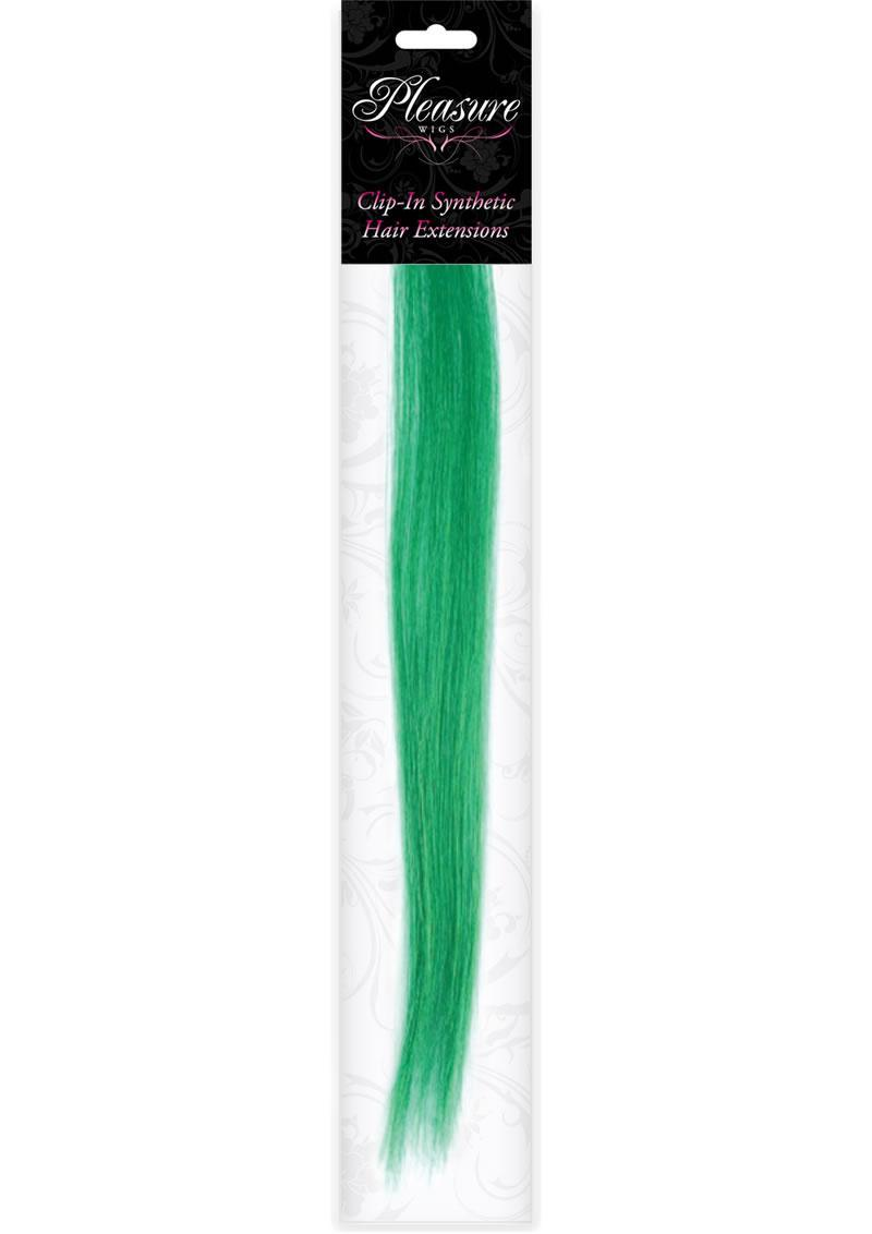 Hair Clip In- Emerald Green (disc)